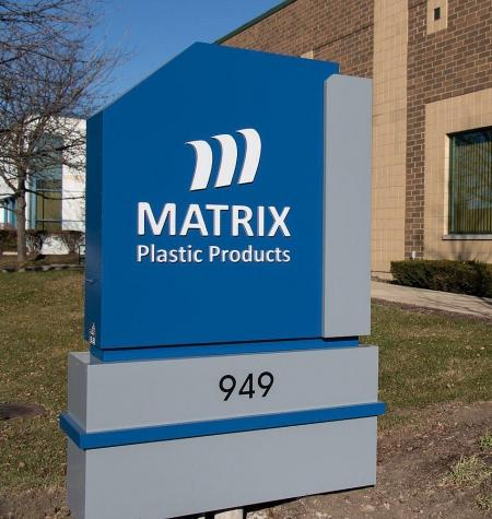 Matrix Outdoor Sign